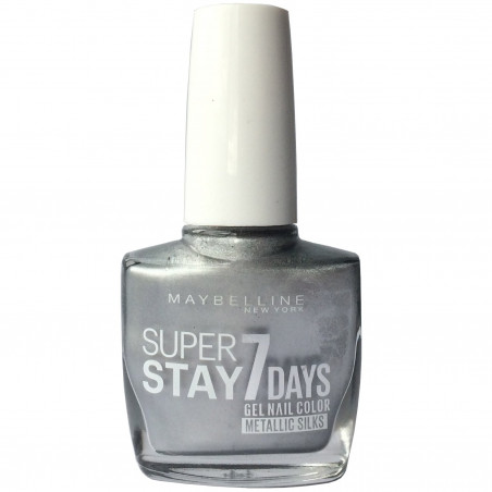 Maybelline New York - Vernis SUPERSTAY - 881 Silver Satin