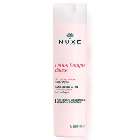 Nuxe - Lotion Tonique Douce Aux Pétales De Rose - 200 ml