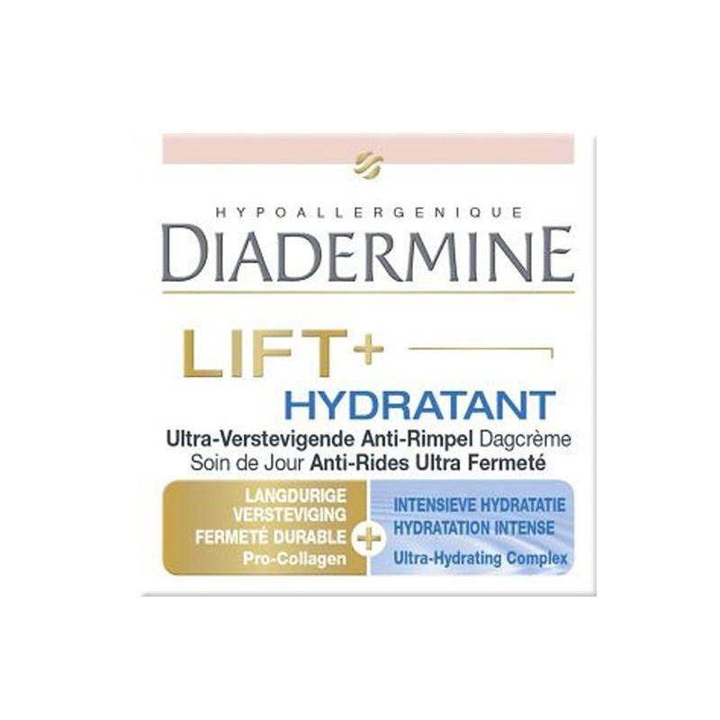 Diadermine - Crème de Jour Anti-Rides Ultra Fermeté LIFT + HYDRATANT - 50Ml