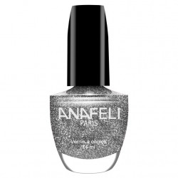 Anafeli - Vernis à Ongles Diamant - D01 Argent