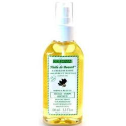 Dollania - Huile De Beauté à L'huile De Karité 100Ml - Visage/Corps/Cheveux