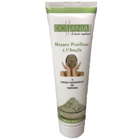 Dollania - Masque Purifiant à l'Argile 150Ml - Huile Essentielle De Verveine