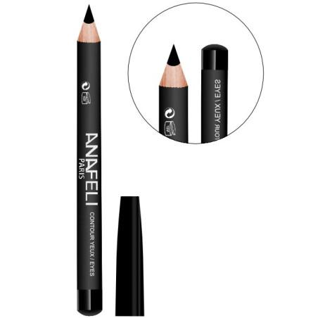Anafeli - Crayon Contour Des Yeux - N°01 Noir