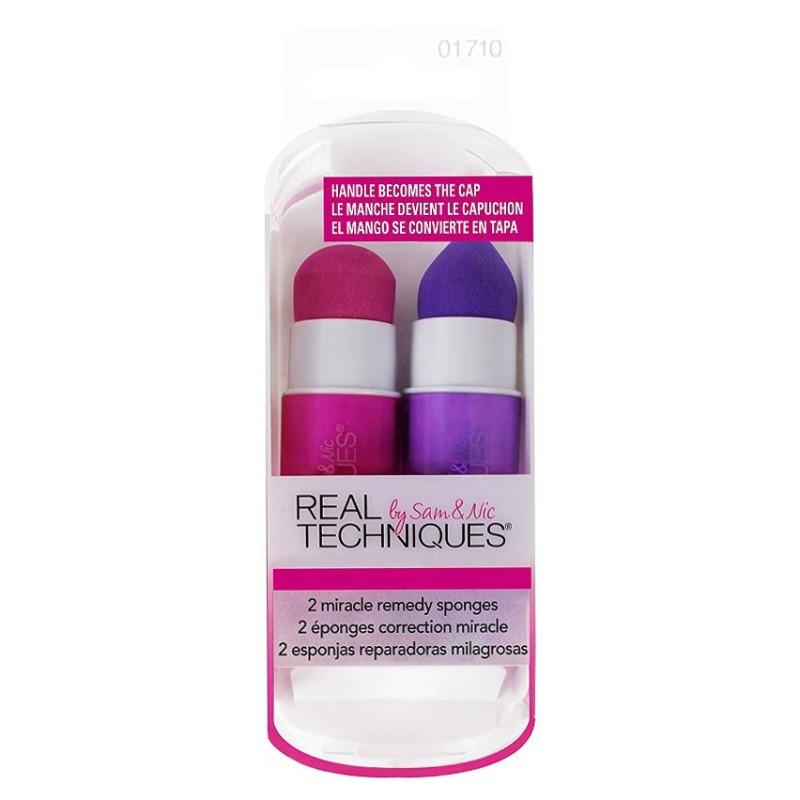 Real Techniques - 2 Éponges de Maquillage Correction Miracle