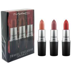 Mac - Coffret de 3 Rouges à Lèvres Phares TRAVEL EXCLUSIVE