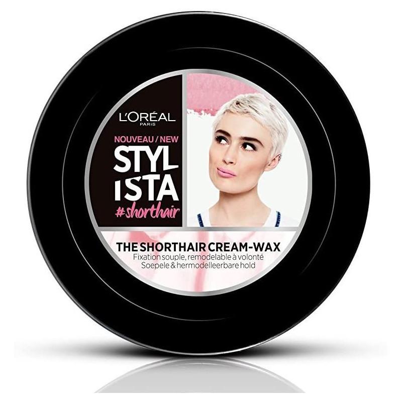 L'Oréal Paris - Crème-Cire Des Cheveux Courts STYLISTA - 75Ml