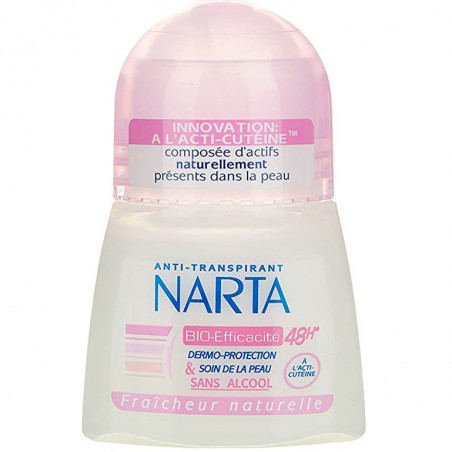 Narta - Anti-Transpirant BIO-EFFICACITÉ - 50Ml