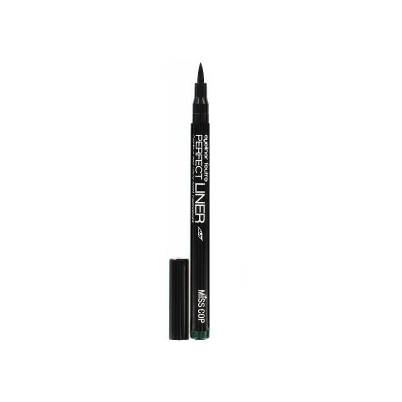 Miss Cop - Eyeliner Feutre PERFECT LINER Semi-Permanent - VertM34