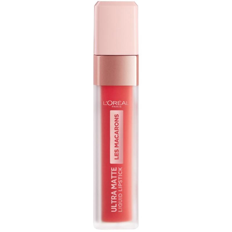 L'Oréal Paris - Rouge à Lèvres Ultra Matte INFAILLIBLE LES MACARONS - 824 Guava Gush