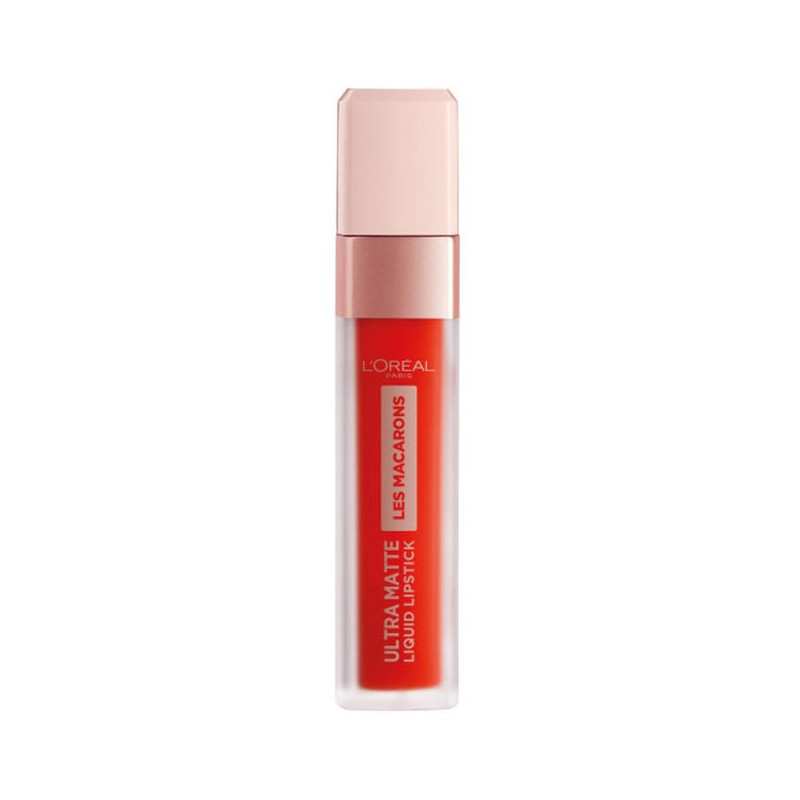 L'Oréal Paris - Rouge à Lèvres Ultra Matte INFAILLIBLE LES MACARONS - 826 Mademoiselle Mango