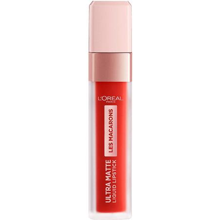 L'Oréal Paris - Rouge à Lèvres Ultra Matte INFAILLIBLE LES MACARONS - 832 Strawberry Sauvage