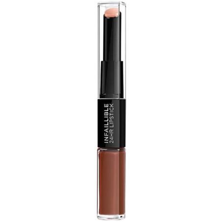 L'Oréal Paris - Rouge à lèvres INFAILLIBLE - 117 Perpetual Brown