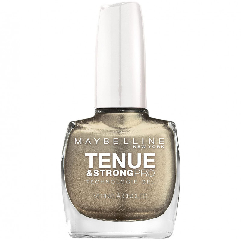 Maybelline New York - Vernis TENUE & STRONG PRO - 735 Gold All Night