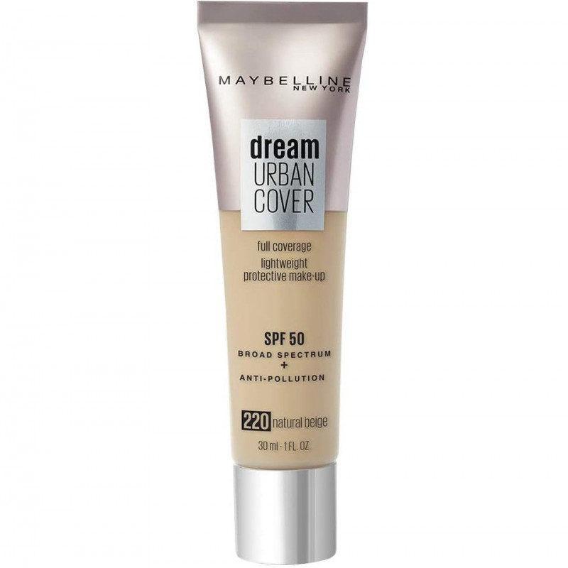 Maybelline New York - Fonds de Teint DREAM URBAN COVER - 220 Natural Beilge 30 ml