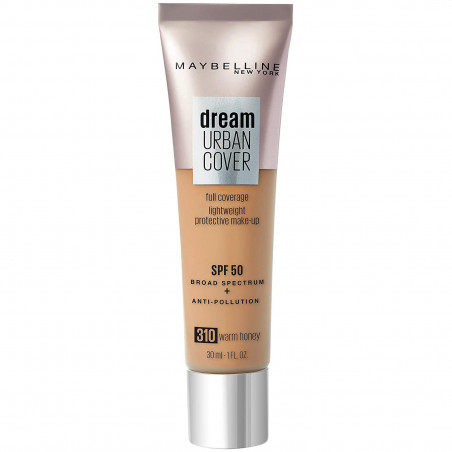 Maybelline New York - Fonds de Teint DREAM URBAN COVER - 310 Warm Honey 30 ml