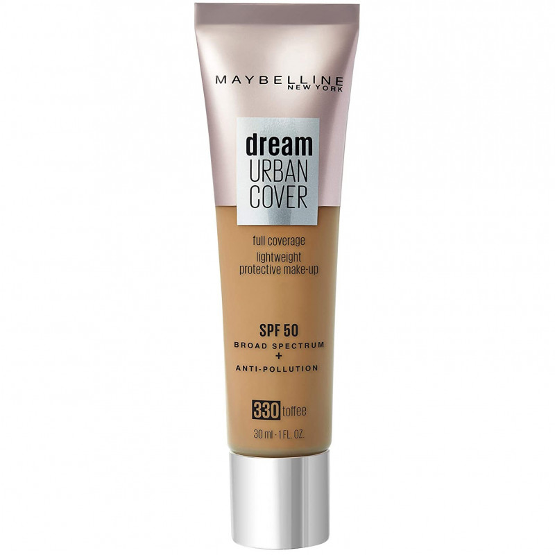 Maybelline New York - Fonds de Teint DREAM URBAN COVER - 330 Toffee 30 ml
