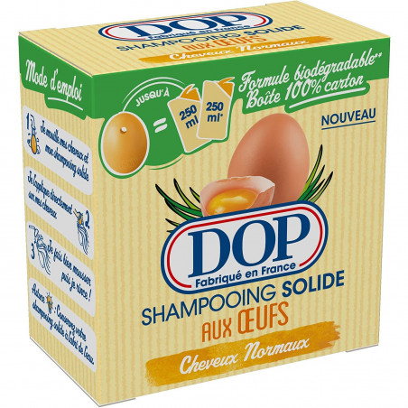 Dop - Shampooing Solide Aux Oeufs - 65g