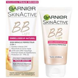 Garnier - BB Light Soin Miracle Perfecteur 5-en-1 SKINACTIVE - 50Ml