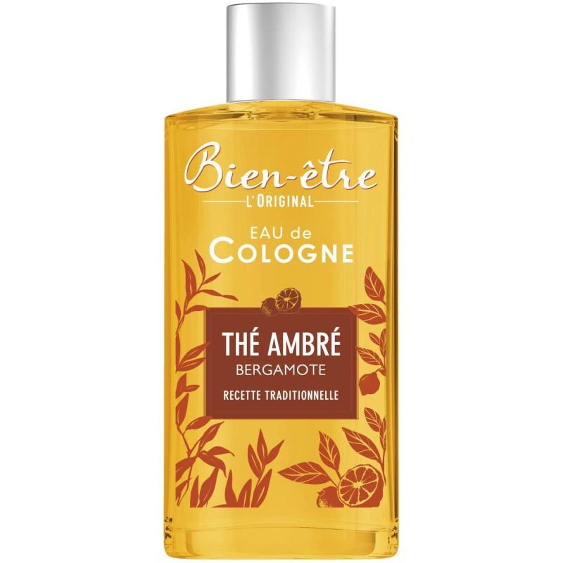 Bien-Être - Eau de Cologne Thé Ambré Bergamote L'ORIGINAL - 250Ml