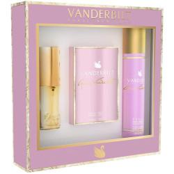 Vanderbilt - Coffret Eau de Toilette 30Ml + Spray Déodorant 150Ml + Vaporisateur de Sac 15Ml GLORIA VANDERBILT