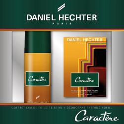 Daniel Hechter - Coffret Eau de Toilette 100 Ml + Déodorant 150 Ml Homme CARACTÈRE