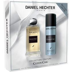 Daniel Hechter - Coffret Eau de Toilette 100 Ml + Déodorant 150 Ml Homme COTON CHIC