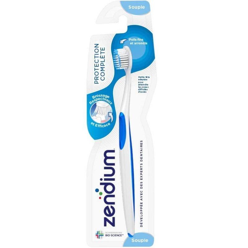 Zendium - Brosse à Dents Souple Protéction Complète - Bleue