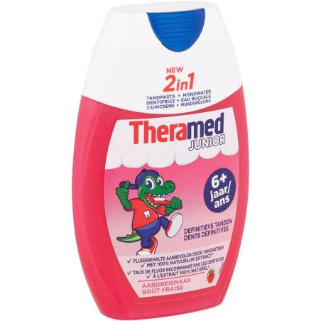 Theramed - Dentifrice 2en1 JUNIOR 6+ 75Ml - Fraise