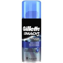 Gillette - Gel à Raser Complete Defense MACH3 - 75Ml