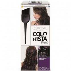 L'Oréal Paris - Couleur Permanente COLORISTA PAINT - Purple BlackHair