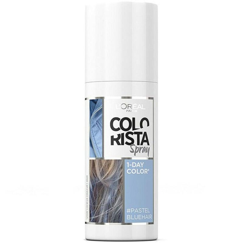 L'Oréal Paris - Spray COLORISTA Couleur 1 Jour Pastel 75Ml - Pastel BlueHair