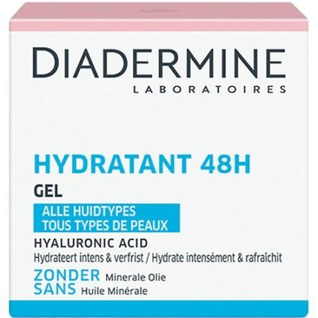 Diadermine - Gel Hydratant 48H - 50Ml