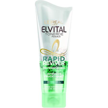 L'Oréal Paris - Après-Shampooing Intensif RAPID REVIVER ELVITAL - 180Ml