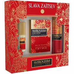 Maroussia - Coffret Eau de Toilette 30Ml + Spray Déodorant 150Ml + Vaporisateur de Sac 15Ml SLAVA ZAÏTSEV