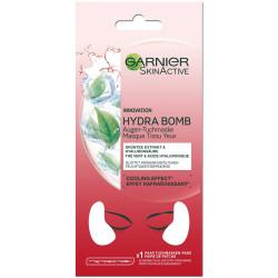 Garnier - Masque Tissu Yeux Effet Rafraîchissant - Hydra Bomb
