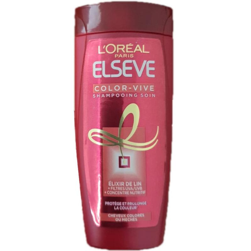 L'Oréal Paris - Shampoing Soin COLOR-VIVE ELSEVE - 50ml