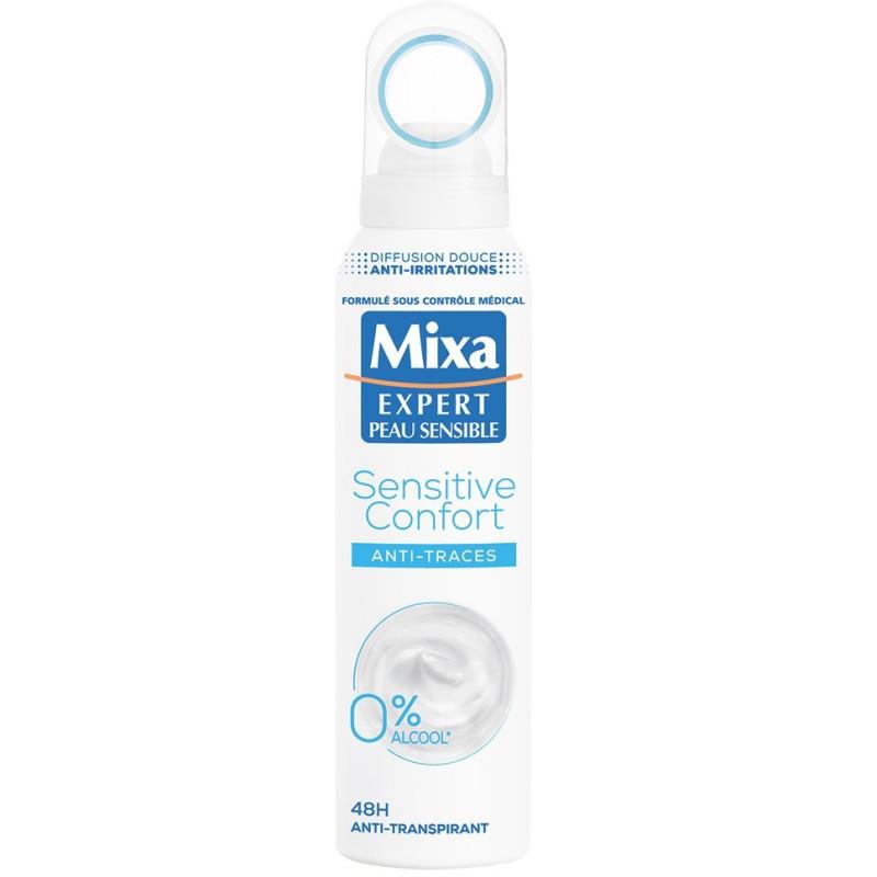 Mixa - Déodorant 48h SENSITIVE CONFORT 150ml - Anti-Traces