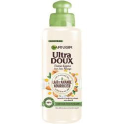 Garnier - Crème Légère Sans Rinçage Lait d'Amande Nourricier ULTRA DOUX - 200ml