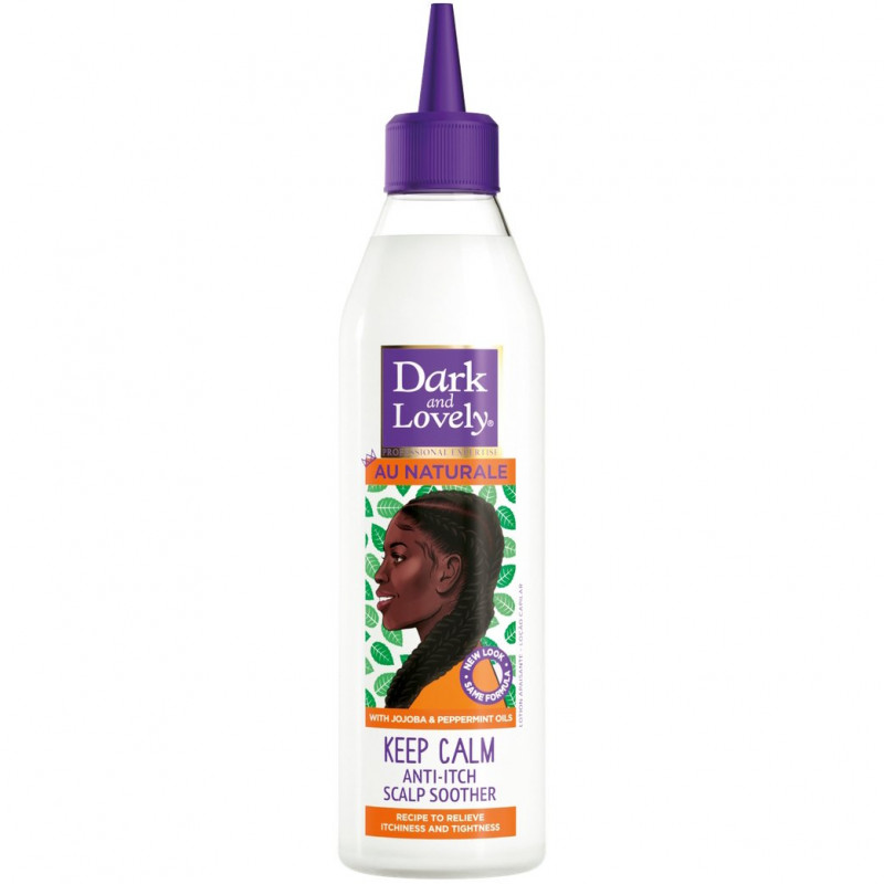 Dark and Lovely - Anti-Démangeaisons Cheveux et Cuir Chevelu AU NATURALE - 250Ml