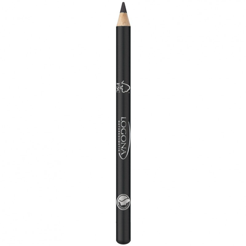 Logona - Crayon Khôl à Paupières - 01 Deep Black