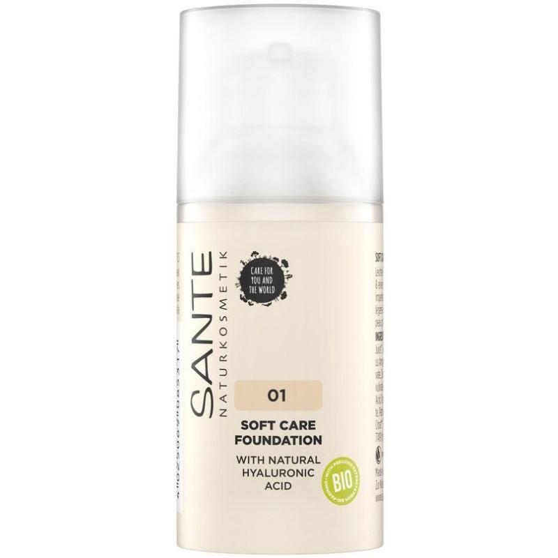 Sante - Fond de Teint Crème SOFT CARE 30ml - 01 Warm Linen