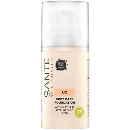 Sante - Fond de Teint Crème SOFT CARE 30ml - 02 Neutral Beige