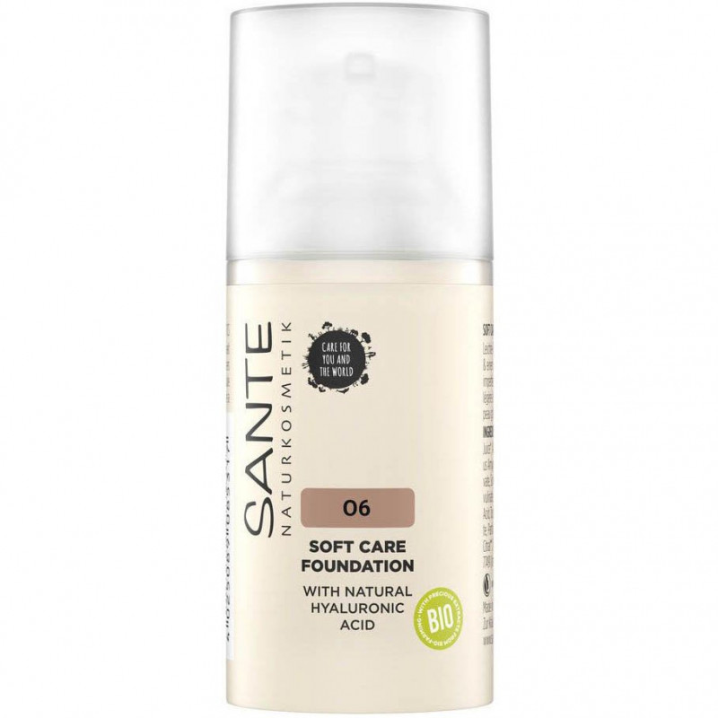 Sante - Fond de Teint Crème SOFT CARE 30ml - 06 Neutral Amber