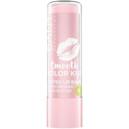 Sante - Baume à Lèvres Teinté COLOR KISS BIO - 04 Soft Rosé