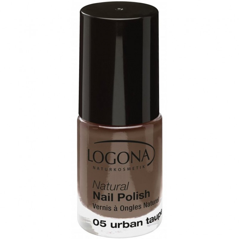 Logona - Vernis à Ongles Naturel 4ml - 05 Urban Taupe