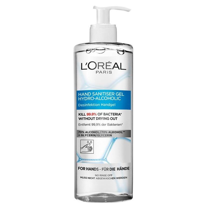 """L""""Oréal Paris - Gel Désinfectant Antibactérien Pour les Mains - 390Ml"""