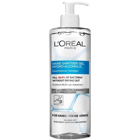 L'Oréal Paris - Gel Désinfectant Antibactérien Pour les Mains - 390Ml