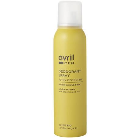 Avril - Déodorant Spray Homme 150 ml – Certifié Bio