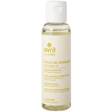 Avril - Huile de Massage Bébé 100 ml – Certifiée Bio