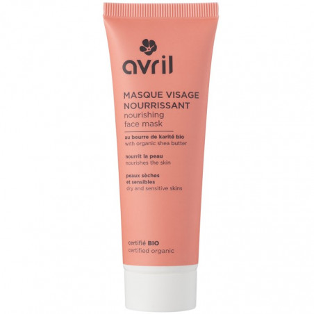 Avril - Masque Visage Nourrissant 50ml - Certifié Bio